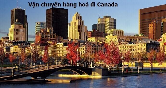 Vận chuyển hàng đi Canada