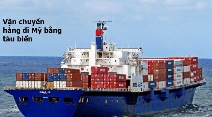Vận chuyển hàng đi Mỹ bằng tàu biển