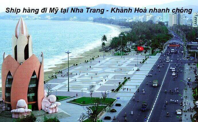 Gửi hàng đi Mỹ tại Nha Trang Khánh Hoà