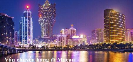 Vận chuyển hàng đi Macau